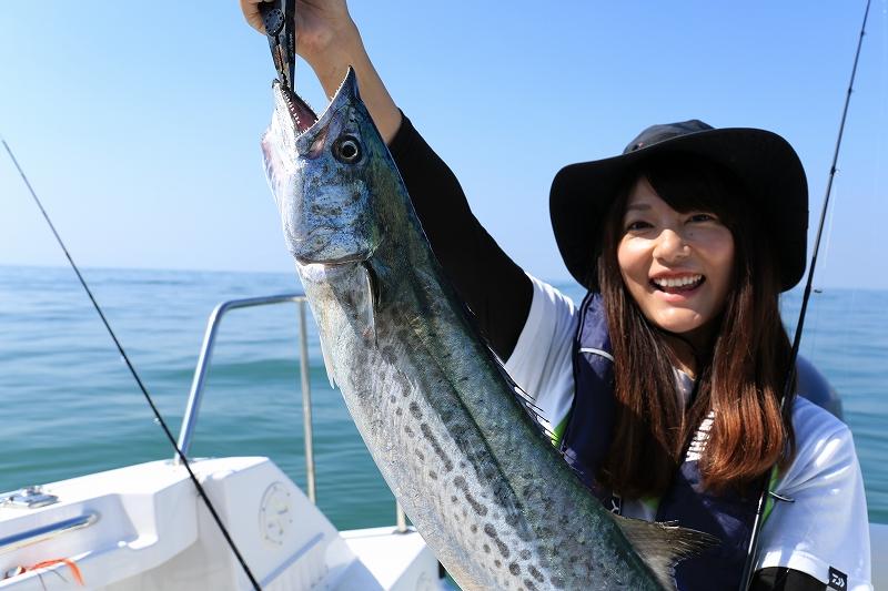 釣り 晴山 由梨 私の釣り人生コラム:晴山由梨 ライフスタイルも釣り人らしく変容